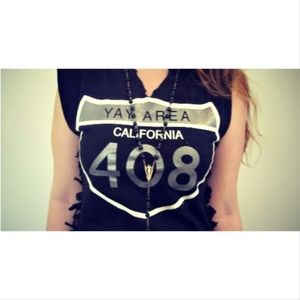 Tops - Bay Area Cut-Out Tee